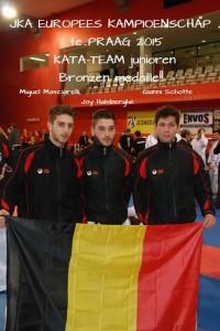 EK 2015 Belgium Kata team