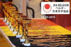 JKA Belgisch kampioenschap 2015