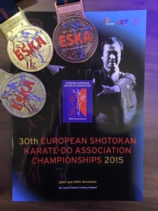European Shotokan Karate Do association championships 2015