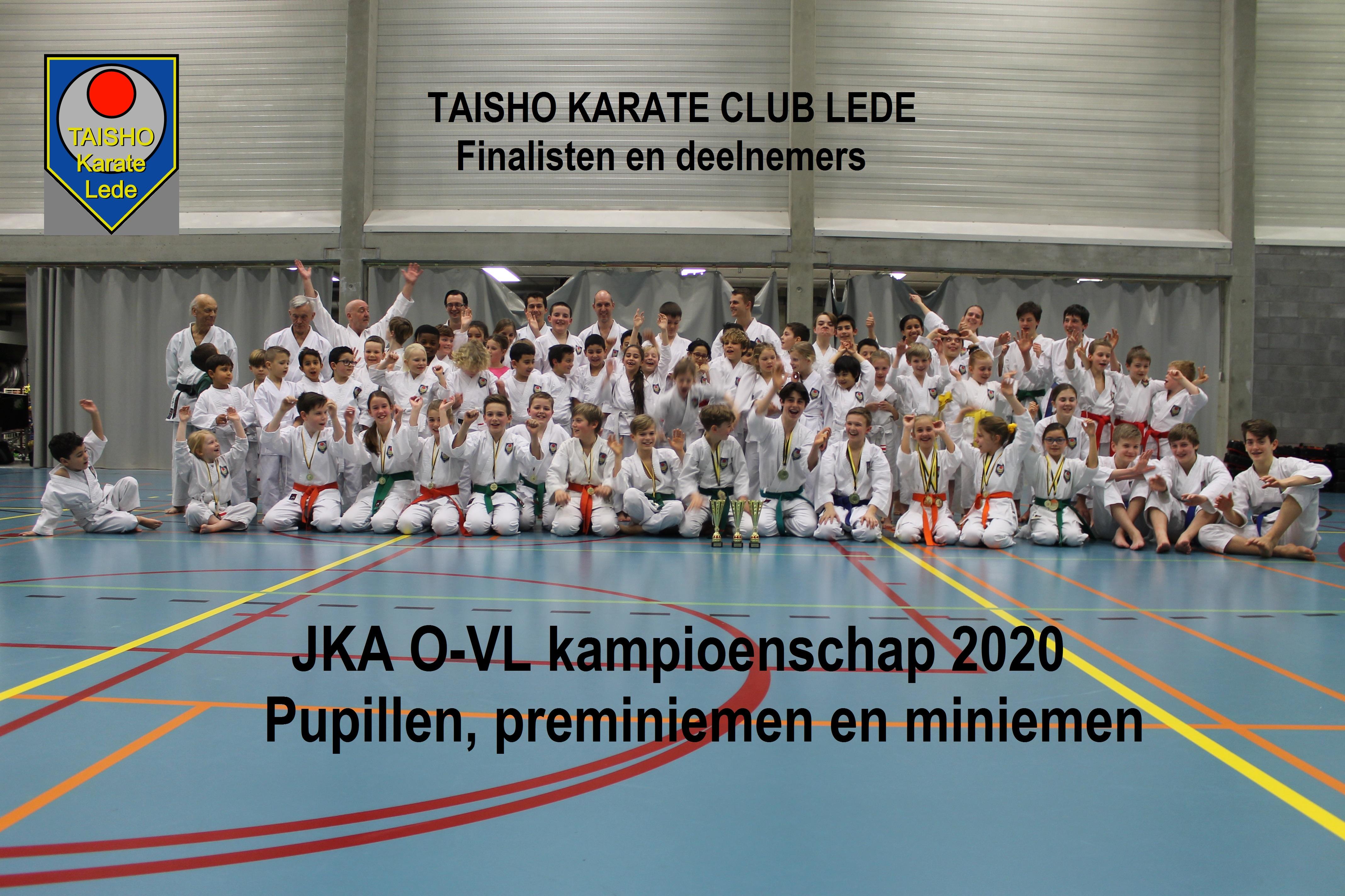 Foto's JKA Oost-Vlaams Kampioenschap 2020